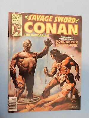 Marvel Special Savage Sword of Conan #22 (1977) 9.0 VF/NM