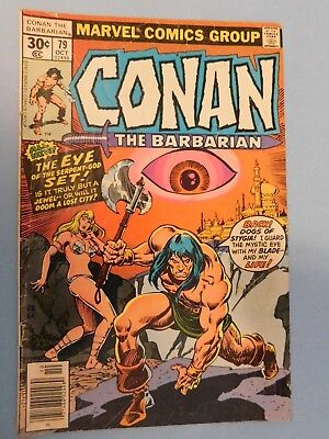 Marvel Conan The Barbarian #79 (1979) 9.0 VF/NM