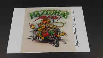 """Mazooma! Ed Roth Trike 11""""x17"""" Print signed and numbered"""