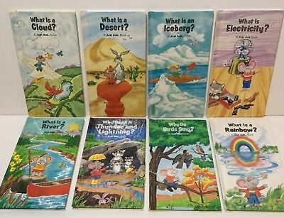 Lot Of 8 Just Ask Weekly Reader Children's HC Books