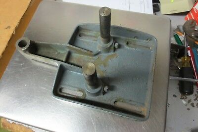 """Walker Turner 15"""" 900 Series Drill Press Motor Mount With Rods"""