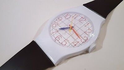 SWATCH MAXI STYLE HUGE VINTAGE WALL CLOCK RETRO 1980s ELECTRO-OPTIX WALL WATCH