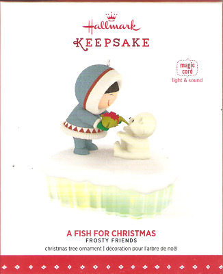 2015 Hallmark  Frosty Friends   A Fish for Christmas
