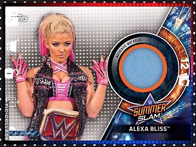Topps Slam Card Trader - Summer Slam Mat Relic Alexa Bliss 289cc *Digital