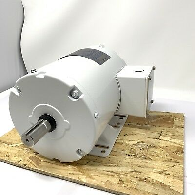Leeson Electric Motor 116779.00 3/4 HP 3450 Rpm 3PH 208-230/460 Volt 56J Frame