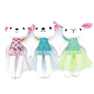 Cute Cat Dog Rabbit Baby Toy Kids Ring Bell Crib Doll Bed Stroller Rattle Toy Q