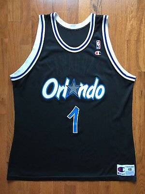 separation shoes afc00 36e2e RARE PENNY HARDAWAY Jersey Size 48 Vintage Champion Orlando Magic NBA
