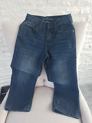 Boys BNWOT genuine blue CALVIN KLEIN jeans trousers 5 years 5-6