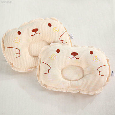 7AD1 Soft Comfortable Baby Pillow Cushion Stripes For Infants Soothing Baby Care