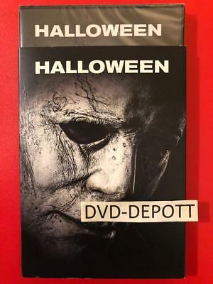 Halloween DVD & Slipcover (2018) {{AUTHENTIC DVD READ}} New FAST Free Shipping