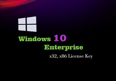 Win 10 Enterprise Full version 32/64 + Activation Key Genuine [ fast delivery ]