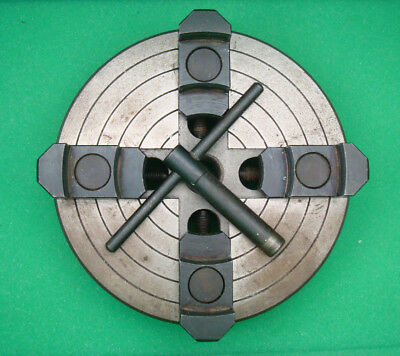 """6"""" Lathe Chuck With Independent 4 Jaws AMT"""