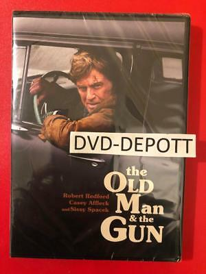 THE OLD MAN & THE GUN DVD {{AUTHENTIC DVD READ}} Brand New FAST Free Shipping