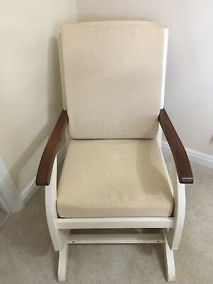 Natural Nursing Glider Maternity Chair Rocking Chair