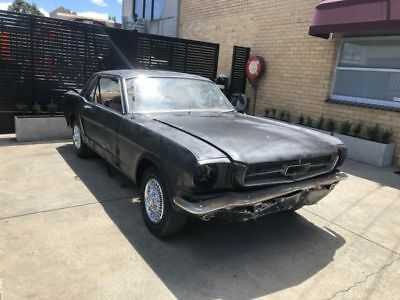1964 1/2 mustang coupe v8 coupe project
