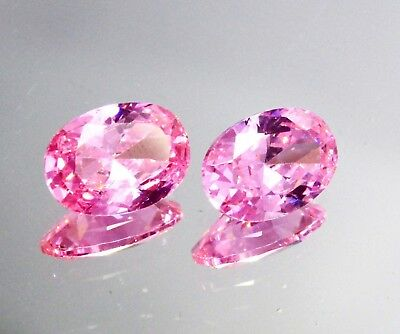 Hurry Up 18 Ct Certified Natural Pink Sapphire Oval Shape Gemstone Pear CZ1920