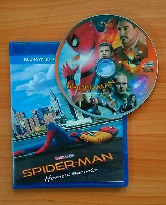 Spider-Man: Homecoming [3D Blu-ray Disk] **Region Free**