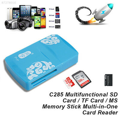 E6C7 Card Reader MicroSD High Speed TF Memory Card Multi Practical ABS 480Mbps