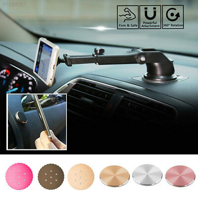 5E92 Magnetic Metal Plate GPS Dashboard Stand Magnet Disc Cellphone Universal