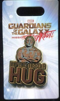 Guardians of the Galaxy Drax Need A Hug Disney Pin
