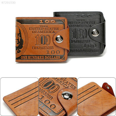 9416 Creative Short Men's Real Leather Wallet Card Holder Purse ID Cash Coin