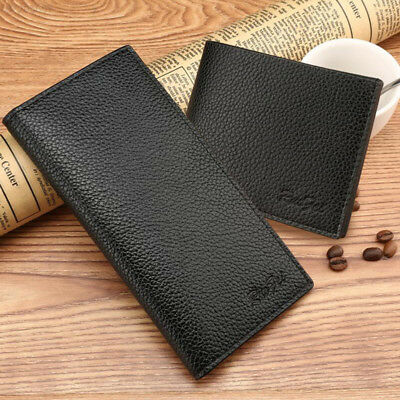 90AF Bags Mens Wallet Leather Men'S Fashion Long Wallet Purses