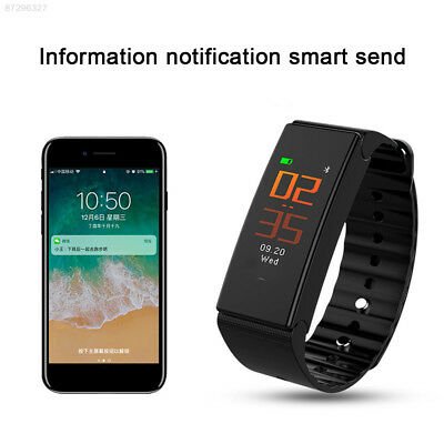 A0AE Smart Bracelet Stopwatch Message Push Call Reminder Sleep Monitoring