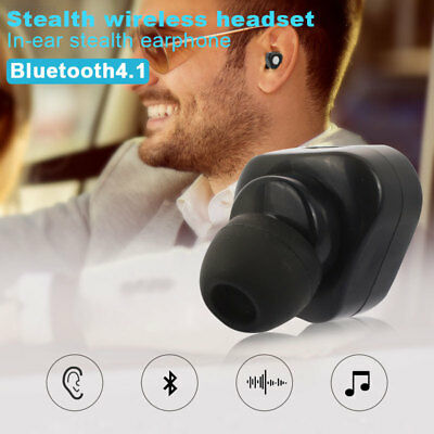 0A1B Wireless Headphone Running Climbing Mobile Phone Rechargeable Music Mini