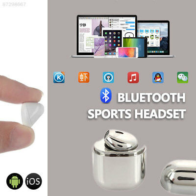 0D1E Wireless Bluetooth Headset Handfree Travel PC Mobile Phone Tablet Mini