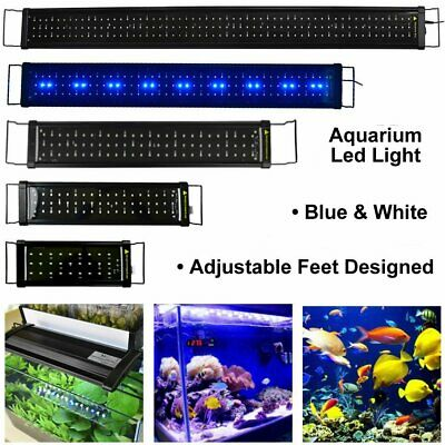 LED Aquarium Light Full Spectrum Lighting Aqua Plant Fish Tank Marine Lamp