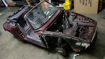 Porsche 911 993 1997 Carrera Cabriolet Shell Chassis Body Project