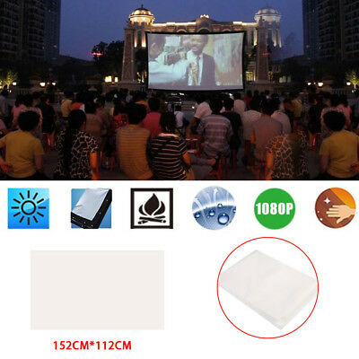 A829 Folded Projection Screen Home Theater Oudoor Gaming School Business