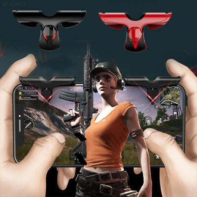 5F6A Gaming Trigger Controller Aim Key Smartphone Gamepad PC Portable 1pair