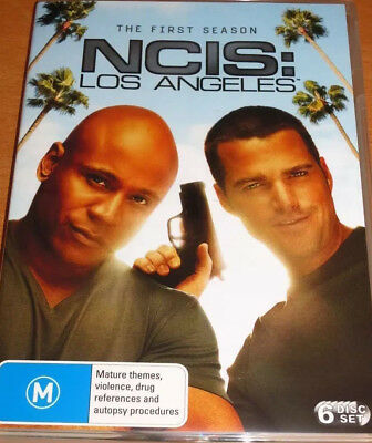 NCIS : LOS ANGELES The Complete First Season 1 ( 6 Disc Set DVD) R4 ( LIKE NEW )