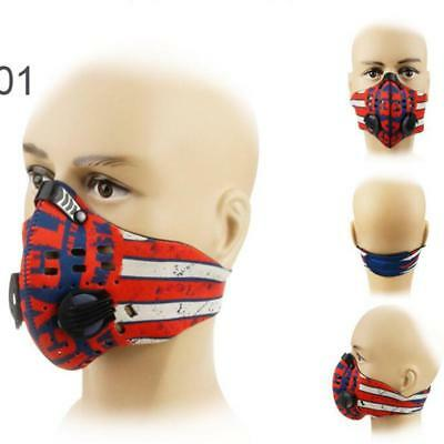 Outdoor Anti Dust Masks Cycling Half Face Mask Windproof Pollen Carbon Mask