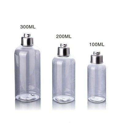 1Pc 100/200/300ml Plastic Cosmetic Empty Bottles Cream Shampoo Lotion Portable
