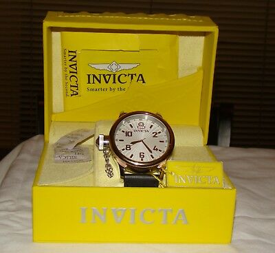 Invicta NEW Gold Tone Divers watch Special Edition Starburst Nixon Gucci Kors