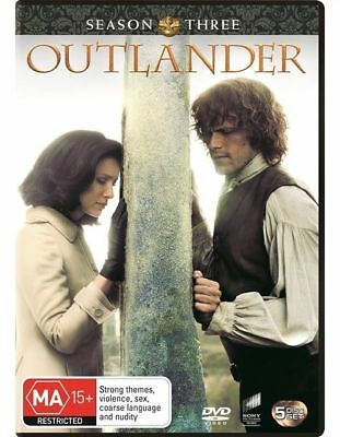 Outlander Season 3 BRAND NEW Region 4 DVD
