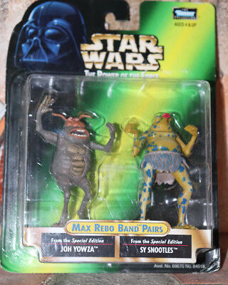 Joh Yowza & Sy Snootles Star Wars Power Of The Force 2 1998