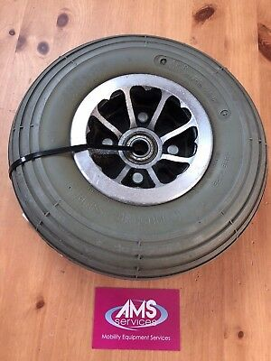 Drive Mercury Neo 4mph Mobility Scooter Front Wheel, Solid Tyre & Hub  - Parts