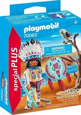 Playmobil Special 70062 Indian Native American Chief Shield Jefe indio