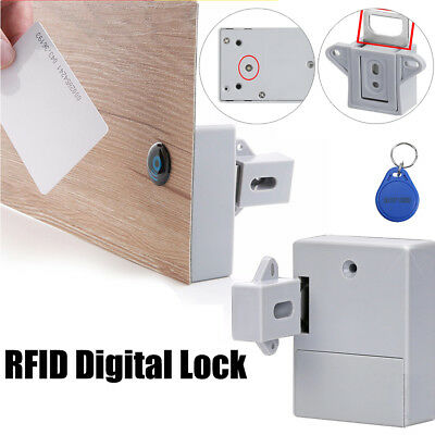 Invisible Security DIY Cabinet RFID Digital Lock Without Perforate Hole Sauna