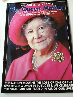 HM Queen Elizabeth the Queen Mother official Daily Express tribute
