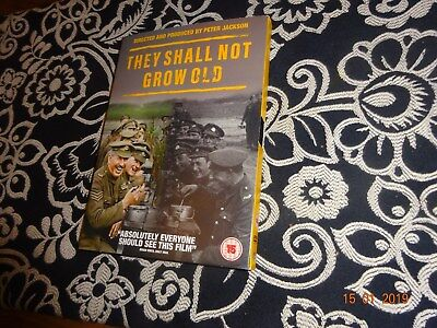 They Shall Not Grow Old [2018] (DVD) Peter Jackson
