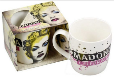 Madonna Celebration Coffee Mug.  Official licenced.