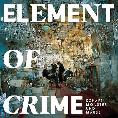 ELEMENT OF CRIME Schafe, Monster und Mäuse CD neues Album 2018 NEU & OVP