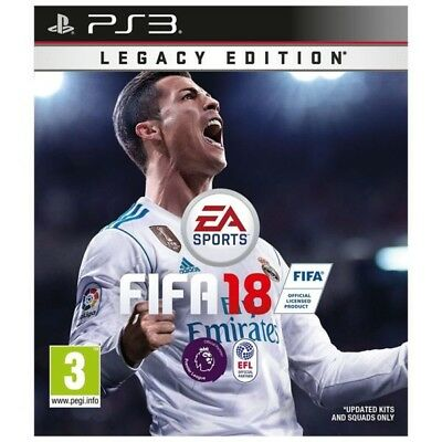 Fifa 18 Legacy Edition - Playstation 3 PS3 Console Game - Ultimate Team Football