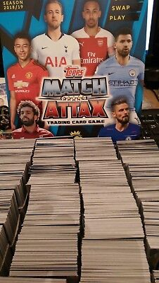 Match Attax 18/19 2018/19 Finish Your Set * Pick The Ones You Need *21 For 2.99