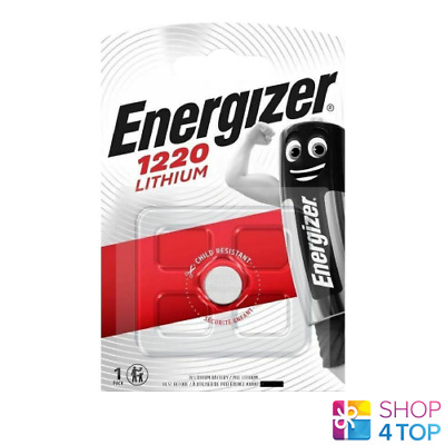 Energizer Cr1220 Lithium Battery 3V Cell Coin Button Exp 2023 New