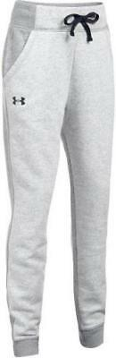 Under Armour Girl's Favorite Fleece Jogger Grey Size Youth Small New with Tags